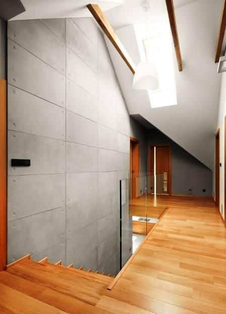 Salon i piętro, dom jednorodzinny