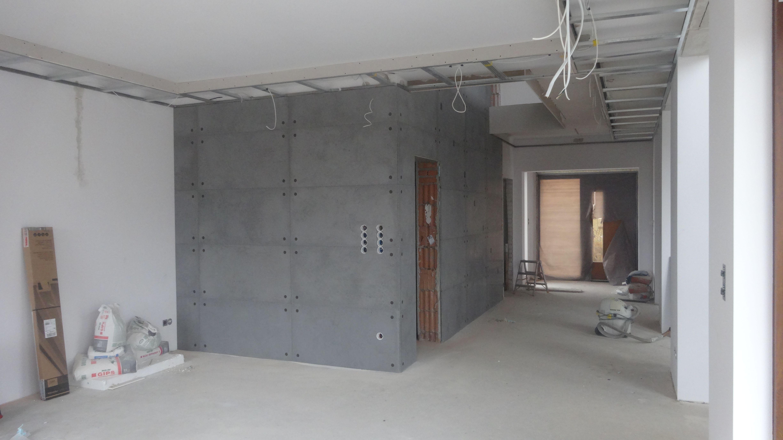 Montaż płyt – beton architektoniczny (1)